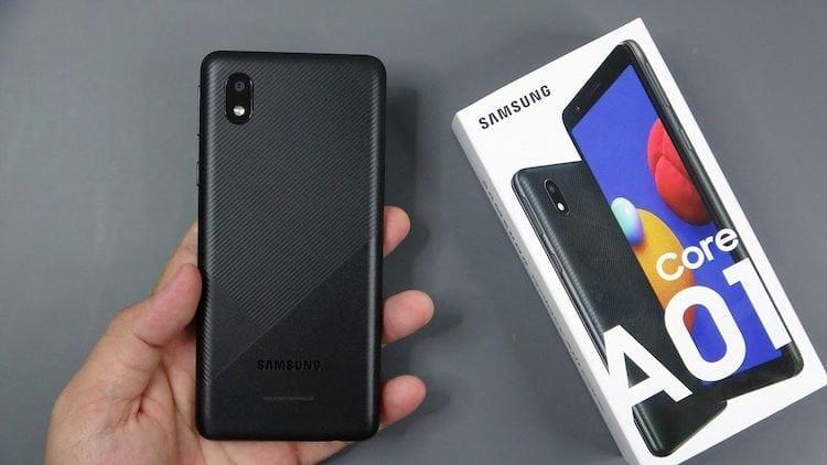 مواصفات هاتف Samsung Galaxy A01 Core - المميزات والعيوب