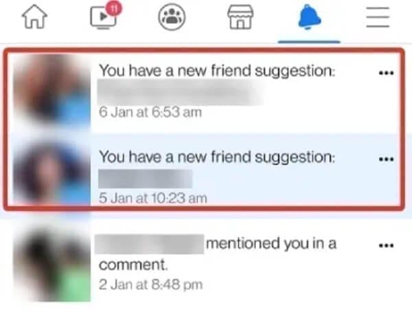 اقتراح الأصدقاء