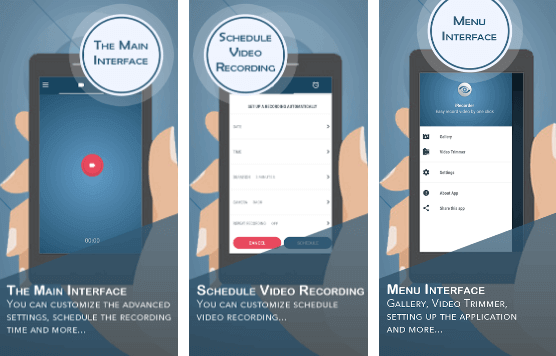 تطبيق iRecorder – Video Recorder تطبيقات كاميرات التجسس ومسجلات الفيديو السرية