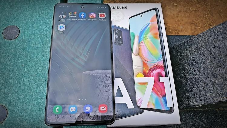مواصفات هاتف Samsung Galaxy A71 - المميزات والعيوب