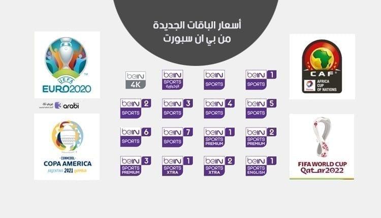 أسعار الباقات الجديدة من بي ان سبورت 2021 والعرض المبكر لصيف 2021 وكأس العالم 2022