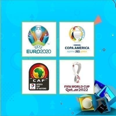 العرض المبكر لصيف 2021- يورو وكوبا أمريكا وكأس الأمم الأفريقية وكأس العالم
