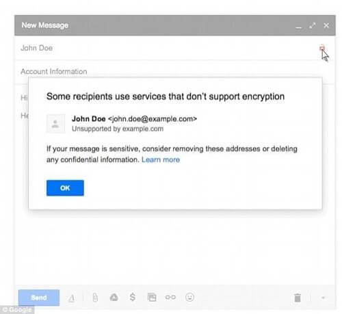 حماية حساب البريد الإلكتروني Gmail 2