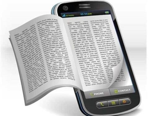 استخدامه كقارئ للكتب الالكترونية