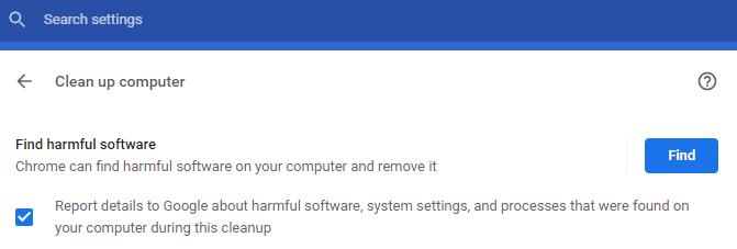 تحقق من وجود البرامج الضارة في جهاز الكمبيوتر الخاص بك 1