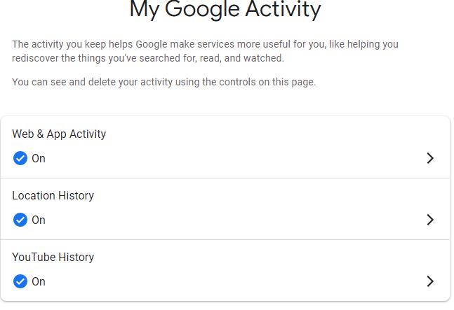 ماذا تعرف جوجل عنك؟