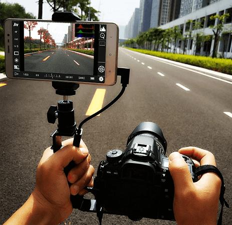 التحكم في كاميرا DSLR وملحقات USB