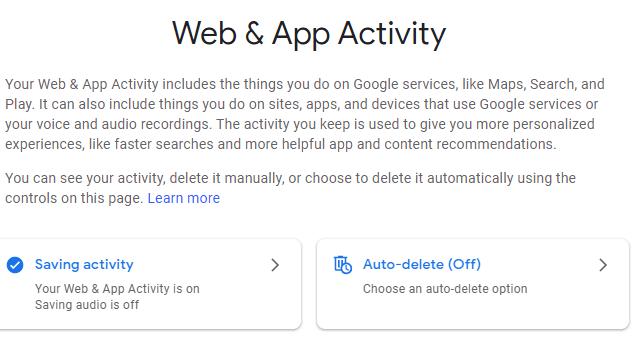 ماذا تعرف جوجل عنك؟ 1