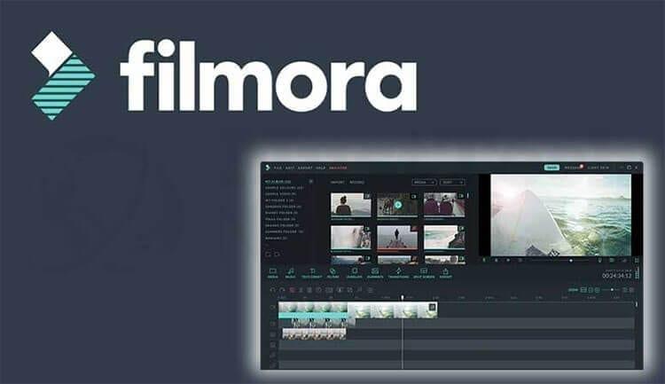 برنامج تحرير الفيديوهات المميز filmora مع ميزة تقسيم الشاشة وتحويل النص إلى كلام