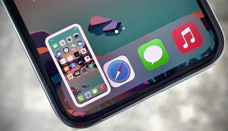 طريقة أخذ لقطة شاشة بدون أن تظهر صورة المعاينة المصغرة في هاتف الآيفون