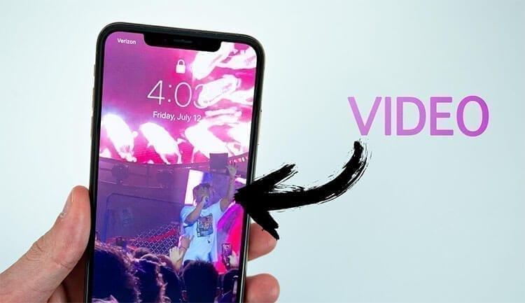 كيفية تعيين فيديو كخلفية شاشة هاتف الآيفون