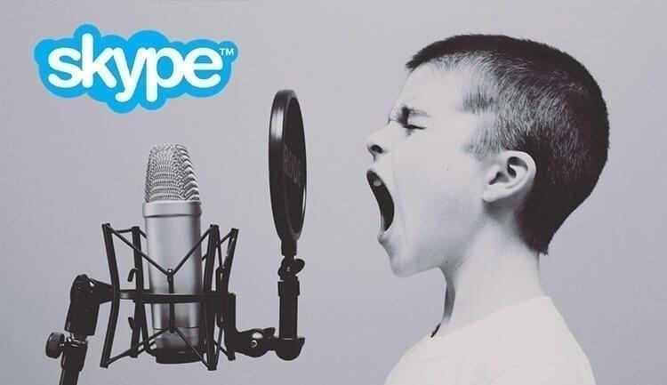 كيفية حل مشكلة المايك لا يعمل في برنامج Skype