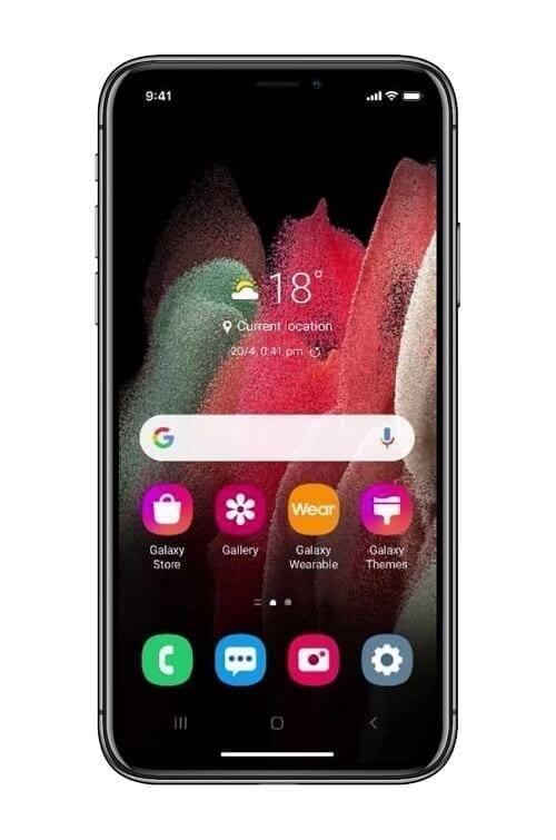 تحويل هاتف الآيفون إلى هاتف سامسونج 2