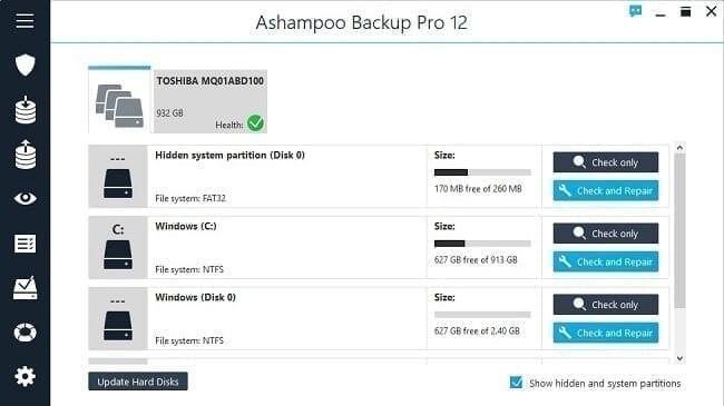 برنامج Ashampoo Backup Pro