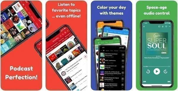 تطبيق Podcast App: Player FM