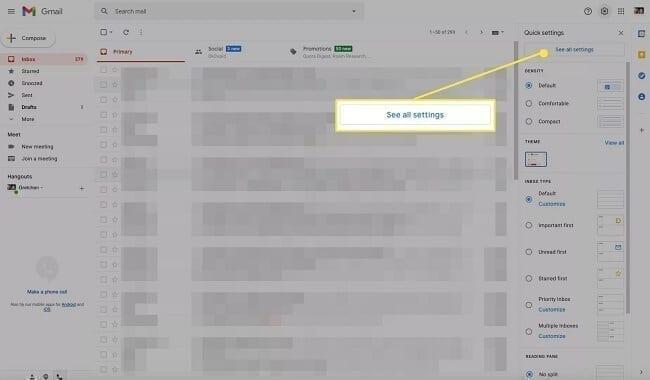 إظهار عدد رسائل بريد Gmail غير المقروءة 1