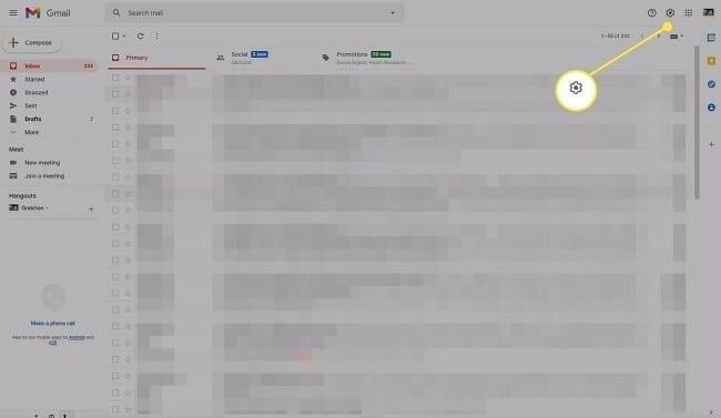 إظهار عدد رسائل بريد Gmail غير المقروءة