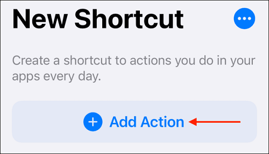 تطبيق Shortcuts 1