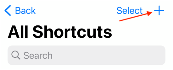 تطبيق Shortcuts