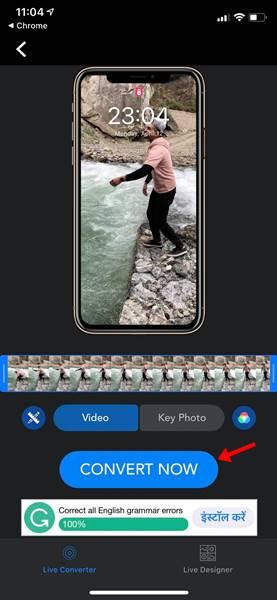تطبيق VideoToLive 1