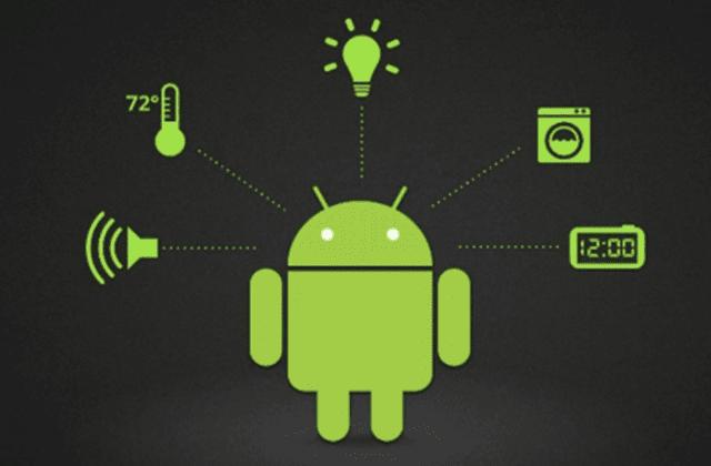 الذي يشكل Android الأشياء