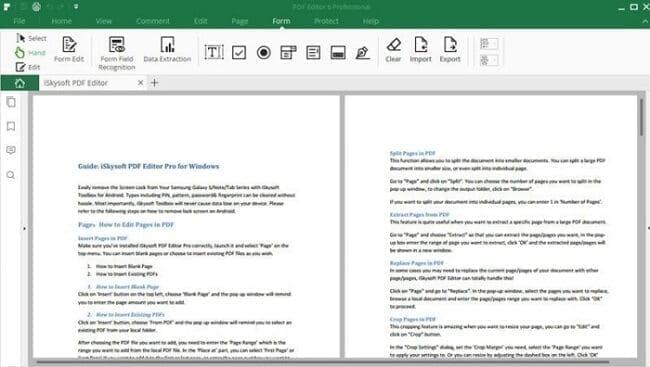 برنامج iSkySoft PDF Editor