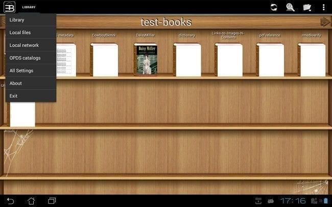 تطبيق EBookDroid