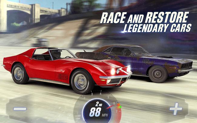 لعبة CSR Racing 2 ألعاب سباق سيارات لهواتف الأندرويد