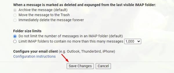 إعادة توجيه رسائل بريد Gmail من حساب إلى آخر تلقائيًا 1