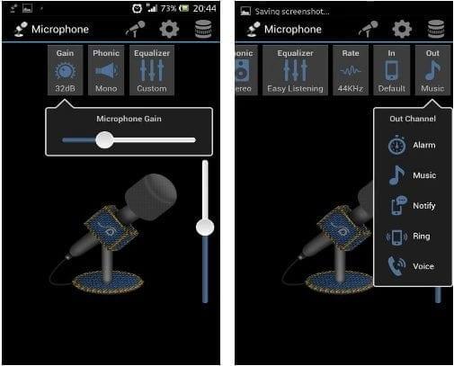 تطبيق Microphone