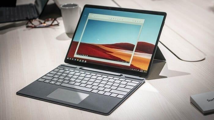 جهاز Microsoft Surface Pro X