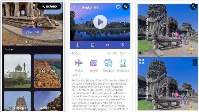 تطبيق Tour It Virtually
