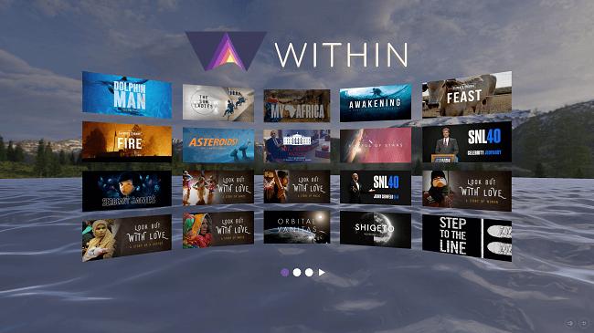 تطبيق Within VR