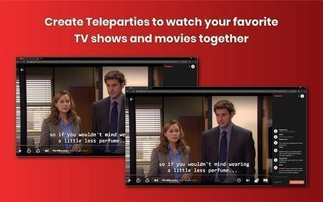 إضافة Netflix Party إضافات مهمة ومفيدة إذا كنت تشاهد محتوى نتفلكس