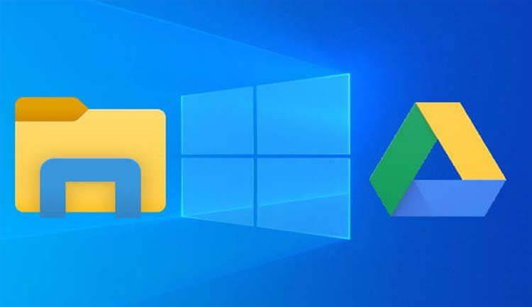 كيفية إضافة قرص خاص بخدمة Google Drive إلى مستكشف الملفات في ويندوز 10