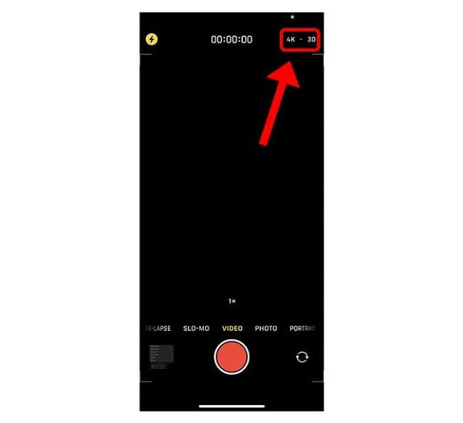 احتفظ بإعدادات الكاميرا استخدام كاميرا iPhone 12 كالمحترفين