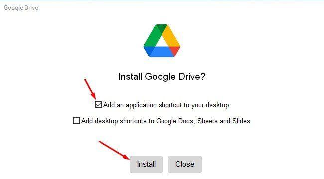 إضافة قرص خاص بخدمة Google Drive إلى مستكشف الملفات