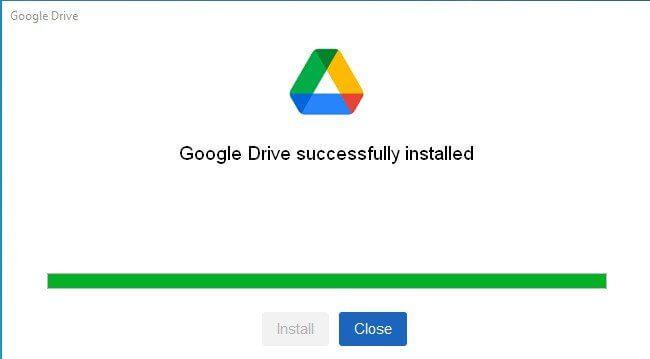 إضافة قرص خاص بخدمة Google Drive إلى مستكشف الملفات 1