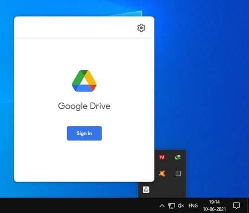 إضافة قرص خاص بخدمة Google Drive إلى مستكشف الملفات 2