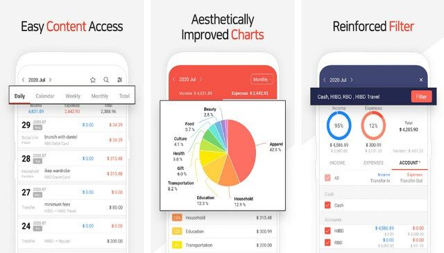 تطبيق Money Manager تطبيقات تساعدك على إدارة أموالك بذكاء