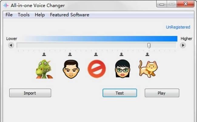 برنامج All-in-one Voice Changer