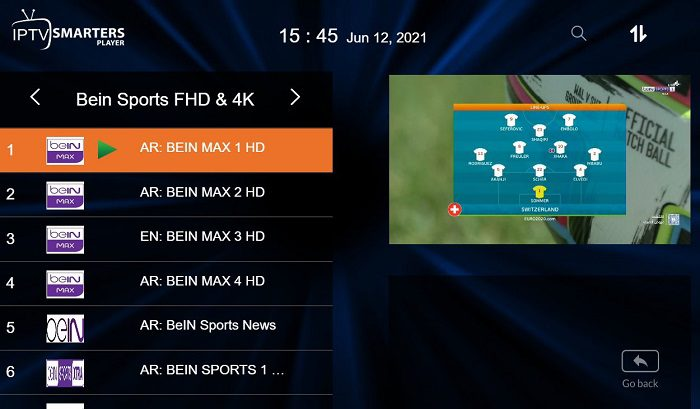 شاهد قنوات BeinSports من جودة SD وحتى 4K مجانًا 1