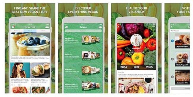 تطبيق Vegan Amino