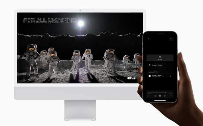 إتاحة خدمة AirPlay لأجهزة ماك