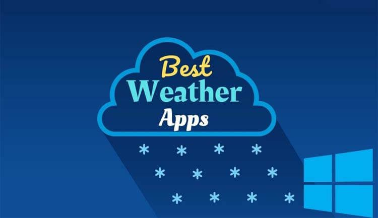 أفضل 5 برامج الطقس للحاسوب