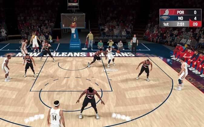 لعبة NBA 2k21 Arcade Edition العاب آركيد