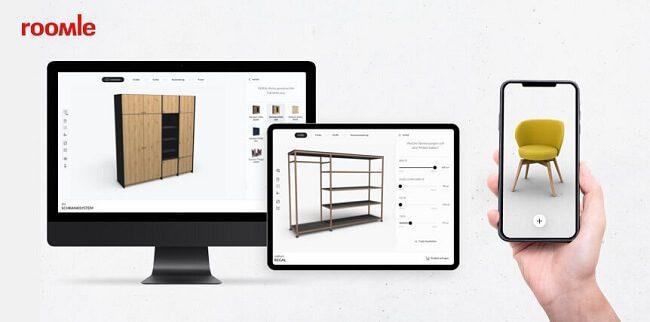 تطبيق Roomle تطبيقات تصميم منازل