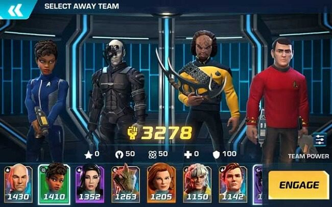 لعبة Star Trek: Legends