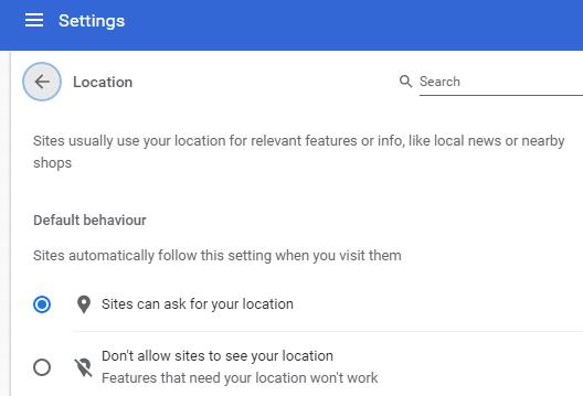 كيف تعرف Google موقعك حتى عند استخدام VPN 1