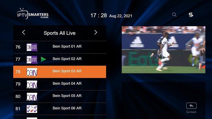 سيرفر IPTV مجاني من موقع 4xiptv 6